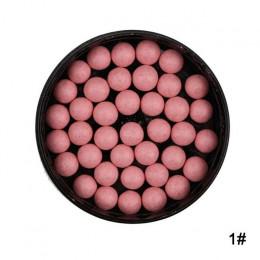 1PC makijaż rumieniec piłka twarzy matowy rumieniec Ball 3 w 1 Blush Eyeshadow kontur kosmetyków w proszku kulki Maquiagem rumie