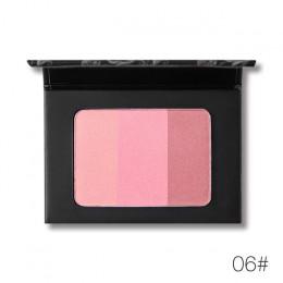 UCANBE marka 3 w 1 mineralny róż paleta do makijażu twarzy policzek róż do policzków cieniowania wciśnięty Powder Contour natura