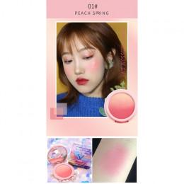 NOVO 4 kolory nowy naturalny policzek róż do policzków tekstury makijaż pieczony rumieniec długotrwałe łatwe do noszenia mineral