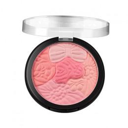 Twarz wciśnięty płatek rumieniec płatki rzeźba kosmetyki pięć kolor rumieniec podkreśla, aby przyciąć naturalny rumieniec danie