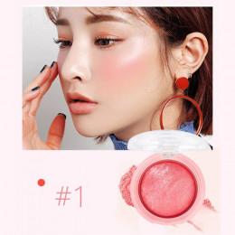 LIDEAL Blush twarzy koreański makijaż Bronzer do pieczenia zacznie się rumienić w proszku kosmetyczne naturalnej bazy highlighte