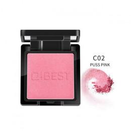 Qibest 8 kolorów naturalny rumieniec pieczone policzek róż do policzków tekstury pieczony rumieniec twarzy baza paleta róży do m