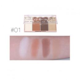 O. dwa. O 4 kolory twarzy makijaż wodoodporny do pielęgnacji w proszku z puder prasowany kontur Bronzer Blush róż do policzków w
