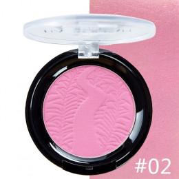 HANDAIYAN Nude makijaż naprawy puder prasowany paleta róży matowy rumieniec trwały naturalny rozjaśniający cerę 6 kolorów