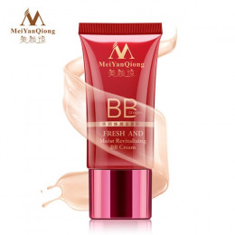 MeiYanQiong świeże i wilgotne rewitalizujący krem BB makijaż twarzy wybielanie kompaktowy fundacja korektor zapobiec wygrzać się