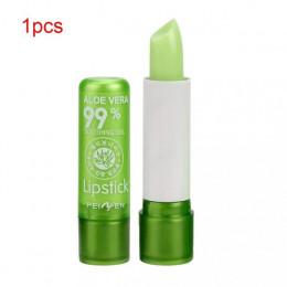 PNF nawilżający balsam do ust z aloesem balsam do ust zmiana temperatury kolorowa szminka długotrwałe odżywcze chroni usta makij