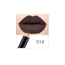 12 kolorów profesjonalne Lipliner makijaż wodoodporny kredka zestaw OA66
