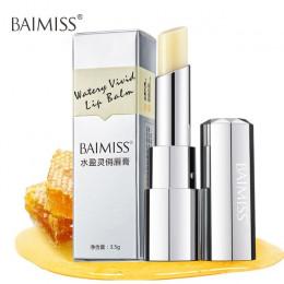 BAIMISS wodne żywe balsam do ust bardzo odżywczy, nawilżający szminka dziecko usta balsam do ust Anti Aging makijaż uroda pielęg