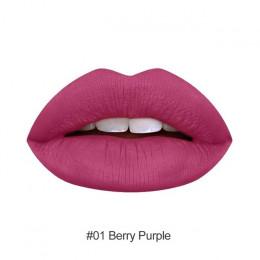 Makijaż usta matowa szminka wodoodporna, długotrwała Sexy pigmentu stylu Nude błyszczyk piękno czerwony odcień