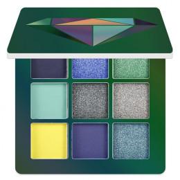 9 kolorów brokatowy cień do powiek paleta matowy cień do powiek paleta Shimmer i czyszczenie diament cień do powiek w proszku Pi