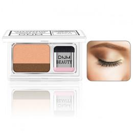 Podwójne kolor leniwy cień do powiek paleta do makijażu brokat paleta cieni do powiek Pallete wodoodporny brokat cieni do powiek