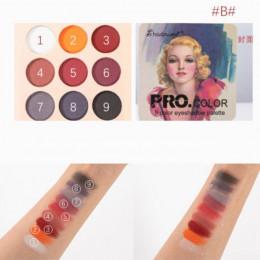 Matowy cień do powiek paleta Nude minerały profesjonalne cień do powiek w proszku Pigment kosmetyczny wodoodporny matowy makijaż