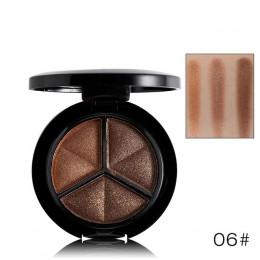 WODWOD marka paleta do makijażu 10 kolor nago matowy cień do powiek Shimmer diament brokat cień do powiek
