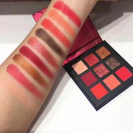 5 styl 9 kolor brokat paleta cieni do powiek wciśnięty Shimmer matowy cień do powiek makijaż długotrwały oczu paleta dla urody k