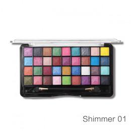Miss Rose 36 kolor paleta cieni do powiek makijaż paleta jasny matowy Shimmer makijaż kolorowy cień do powiek zestaw kosmetyczny