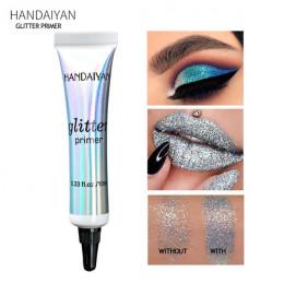HANDAIYAN Glitter Eyeshadow Primer profesjonalny Primer baza cień do powiek makijaż krem klej cekiny wielofunkcyjny żel do makij