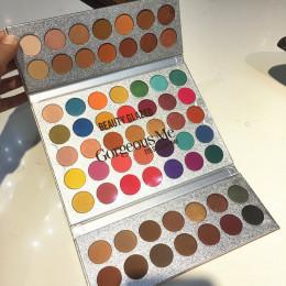 Piękno oszklone makijaż wspaniały mnie paleta cieni do powiek 63 kolor makijaż paleta cieni do powiek Pallete pigmentowane oczu