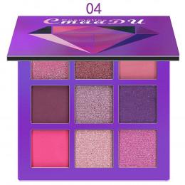 CmaaDu 9 kolor Shimmer Glitter Eye cień do powiek w proszku matowy mody paleta do makijażu pigmentowane cieni do powiek uroda ko