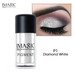 IMAGIC nowy nabytek brokat cień do powiek metalowe luźne proszek wodoodporny Shimmer pigmenty kolorów cieni do powiek makijaż ko