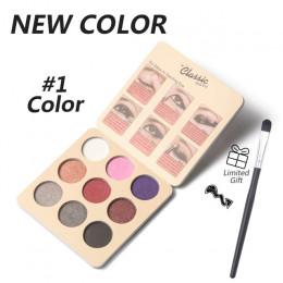 Mini paleta do makijażu nago brokat pigmentowane kylie jenner kosmetyki paleta matowych cieni do oczu maquiagem profissional com