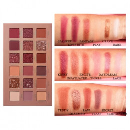 18 kolory nago lśniące brokat paleta cieni do powiek Shimmer Matte długotrwały makijaż proszek Pigment wodoodporny cienie do pow