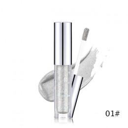 UCANBE marka holograficzny metaliczny Duochrome cień do oczu blask brokat błyszczące cień do powiek pigmentu wodoodporny płynny