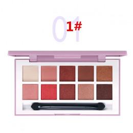 Popfeel paleta cieni do powiek 120 kolorów kobiety pełna profesjonalny makijaż oczu matowy Shimmer blask zestaw paleta cieni do