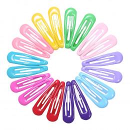 Spinki do włosów dla dzieci ozdobne modne kolorowe różowe żółte niebieskie zielone