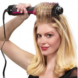 1000 W profesjonalna suszarka do włosów szczotka 2 W 1 prostownica do włosów lokówki grzebień elektryczny suszarka nadmuchowa z