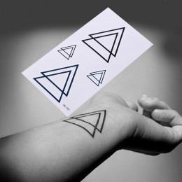 2016 Hot czarny tymczasowy tatuaż tatuaże Body Art 3D wodoodporna tymczasowe tatuaże naklejki Art mężczyźni ramię nogi fałszywy