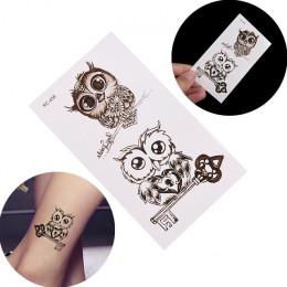 3D wodoodporna tymczasowa egzotyczne naklejki z tatuażami Sexy Oriental karpia uroda makijaż Body Art