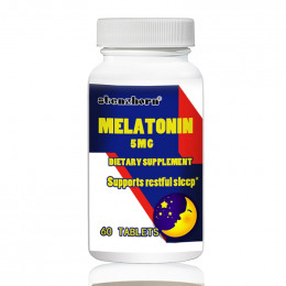 Melatoniny 5 mg 60 sztuk obsługuje spokojny sen