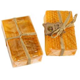 100% mydło wyrabiane ręcznie wybielanie Peeling glutationu Arbutin miód kwas kojowy mydło do pielęgnacji skóry 90g 5JY6
