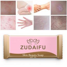 Mini 3 sztuk Zudaifu siarka mydło skóra trądzik łuszczyca łojotok wyprysk przeciwgrzybicze wybielające mydło do kąpieli szampon