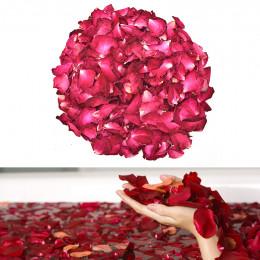 30/50/100g suszone róże płatki naturalny suszony kwiat pachnące wanna Spa prysznic narzędzie do wybielania kąpieli uroda ciało s