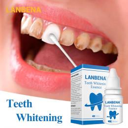 LANBENA wybielanie zębów Essence proszek do higieny jamy ustnej do czyszczenia Serum usuwa plamy zębów wybielanie zębów narzędzi