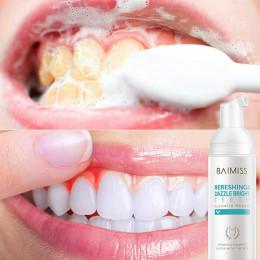 BAIMISS świeże Shining zębów-do czyszczenia mus pasta do zębów higiena jamy ustnej wybielanie usuwa plamy z płytki nazębnej nieś
