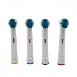 4 sztuk elektryczny wymienne główki do szczoteczki do zębów do Braun Oral B zęby czyste