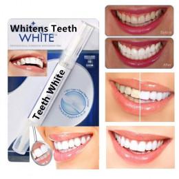 Profesjonalny domowy zestaw do wybielania czyszczenia zębów aplikator w wygodnym pędzelku bezpieczny dla szkliwa