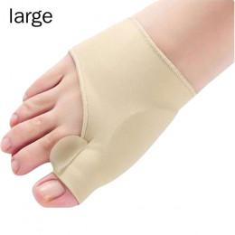 1 para duży/mały palec u nogi korektor ortezy stóp pielęgnacja stóp kości kciuk regulator korekta miękkie Pedicure skarpetki zes