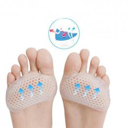 Pary żel separator palców stopy zespół cieśni kanału nadgarstka Splint ula w kształcie Forefeet rękaw poduszki śródstopia klocki