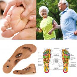 1 para akupresura odchudzanie wkładki magnetoterapia masaż stóp terapia magnetyczna ból stóp Anti-zmęczenie pielęgnacja stóp