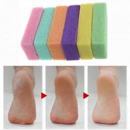 2 sztuk pedicure/pielęgnacja stóp pumeksu, narzędzia do pedicure do stóp, pocierać stopy nie żyje skóry sprawiają, że stopy gład