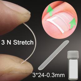 10 sztuk wrastające paznokieć narzędzie do korekcji wrastających Toe leczenie paznokci elastyczne naszywka prostowanie klip Brac