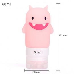 Liplasting Dropship 1 pc przenośny wycisnąć wielofunkcyjny Cartoon zwierząt modelowania butelki silikonowe Cartoon płynnego poje