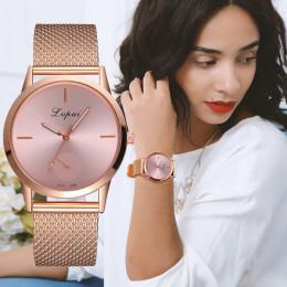 Lvpai damskie na co dzień bardzo uroczy na każdą okazję kwarcowy zegarek silikonowy pasek pasek zegarek analogowy zegarek na ręk