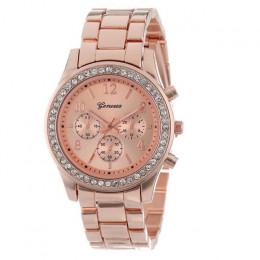 Genewa klasyczny luksus Rhinestone zegarka kobiet zegarki moda zegarki zegarek dla pań kobiet zegarki zegar Reloj Mujer Relogio