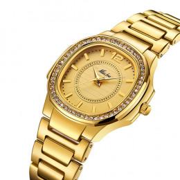 Kobiety zegarki kobiet mody zegarek 2019 genewa projektant zegarek dla pań luksusowe markowy diament zegarek kwarcowy złoty zega