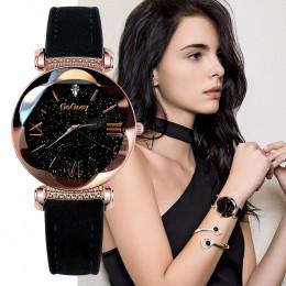 Gogoey zegarki damskie 2018 luksusowe zegarek dla pań gwiaździste niebo zegarki dla kobiet moda bajan kol saati diament Reloj Mu