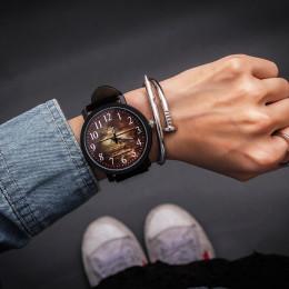 Moda zegarek na rękę kobiet zegarek panie kwarcowe zegarki na rękę dla kobiety zegar kobiet godzin Hodinky Montre Femme duża tar